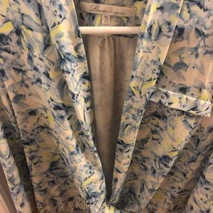 Lovers + Friends Tops - Lovers + Friends Floral Long Sleeve Blouse